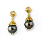 Tahatian Pearl Earrings