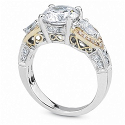 Diamond Engagement Ring Semi-mount