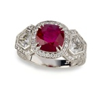 Colored Stone Ring Ruby