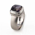 Colored Stone Ring Iolite