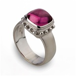 Colored Stone Ring Pink Tourmaline